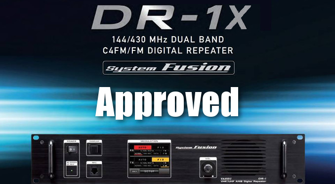 DR 1X approved21